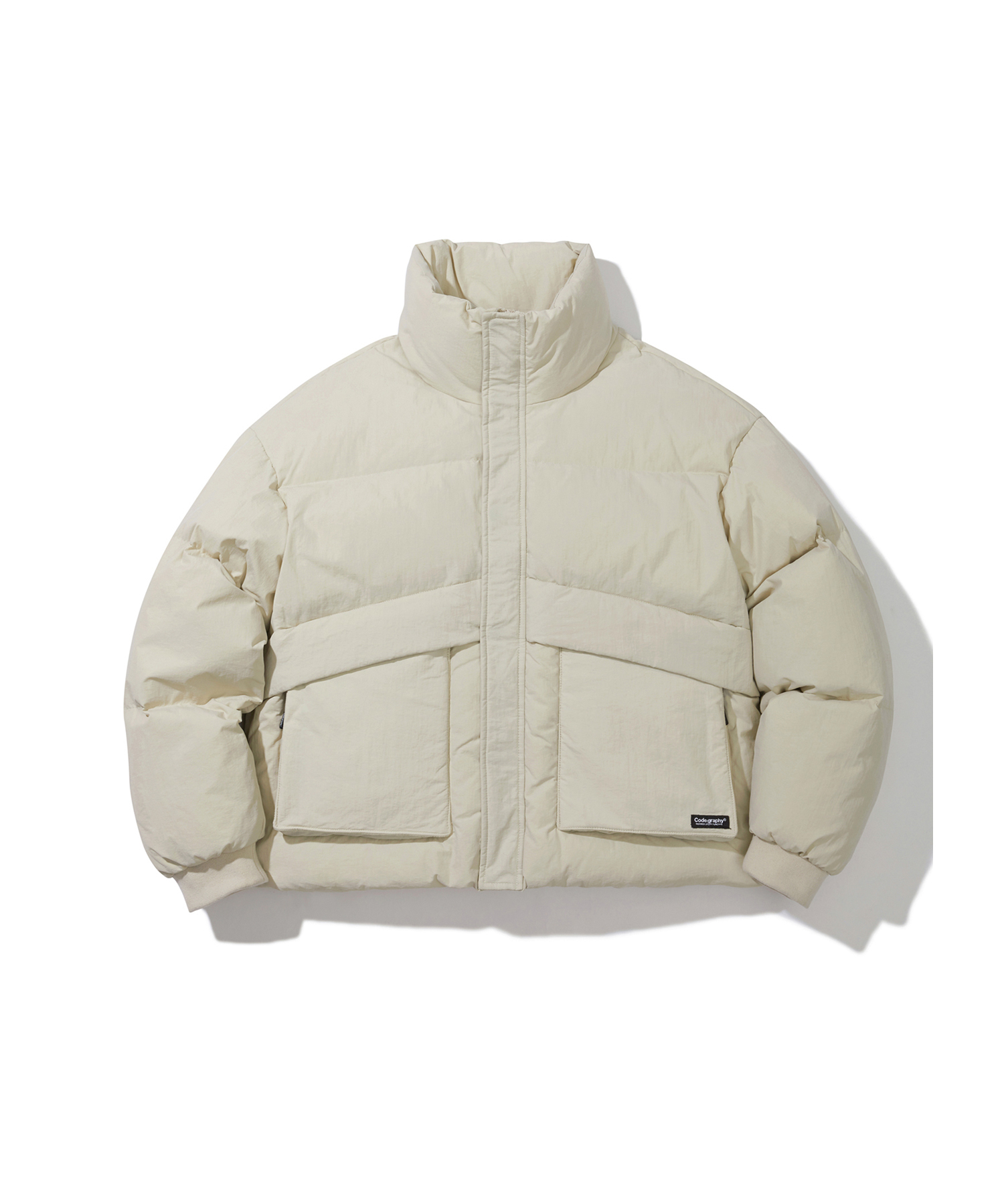 [Renewal]UTILITY DUCK DOWN SHORT PUFFA - BE