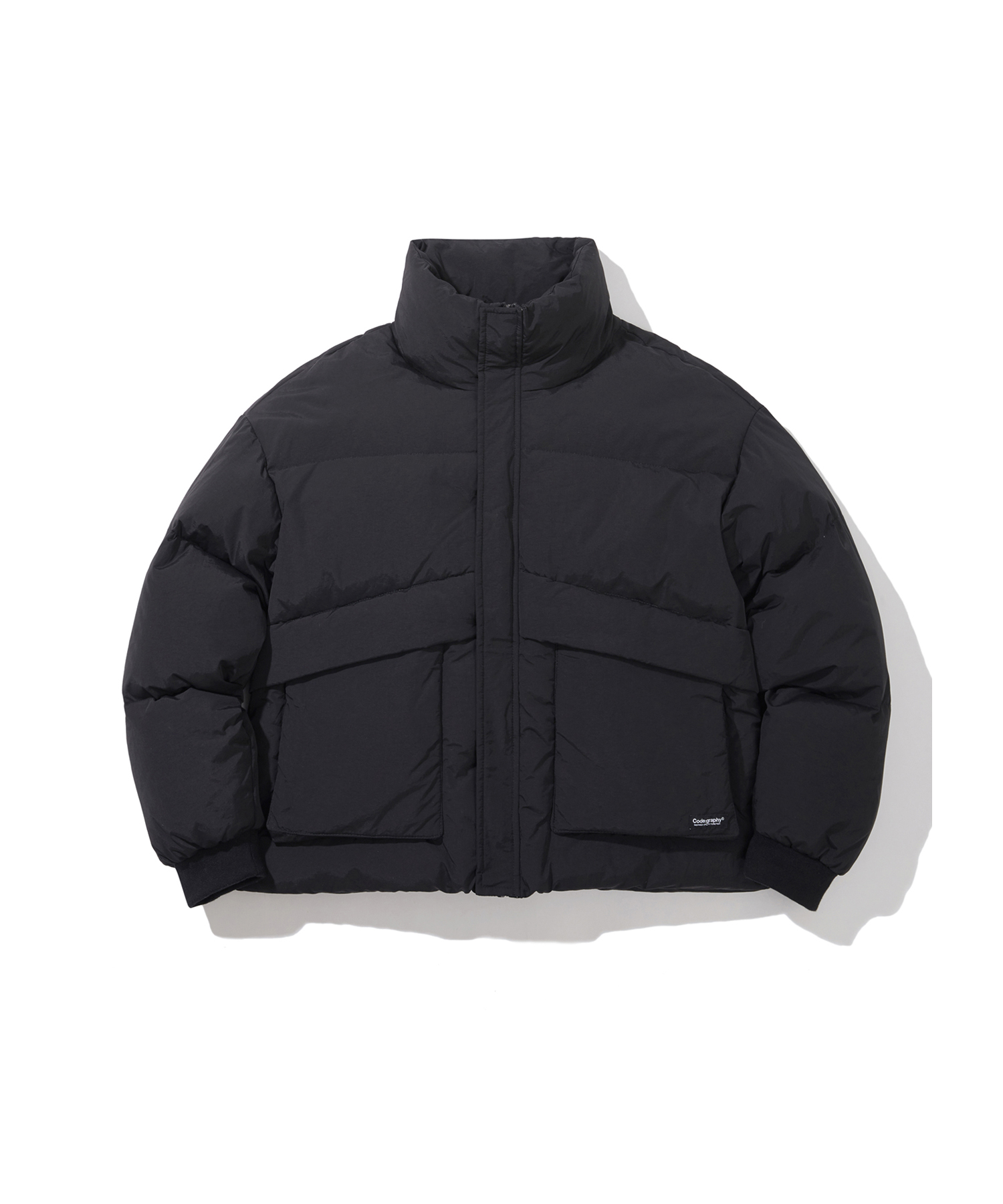 [Renewal]UTILITY DUCK DOWN SHORT PUFFA - BK