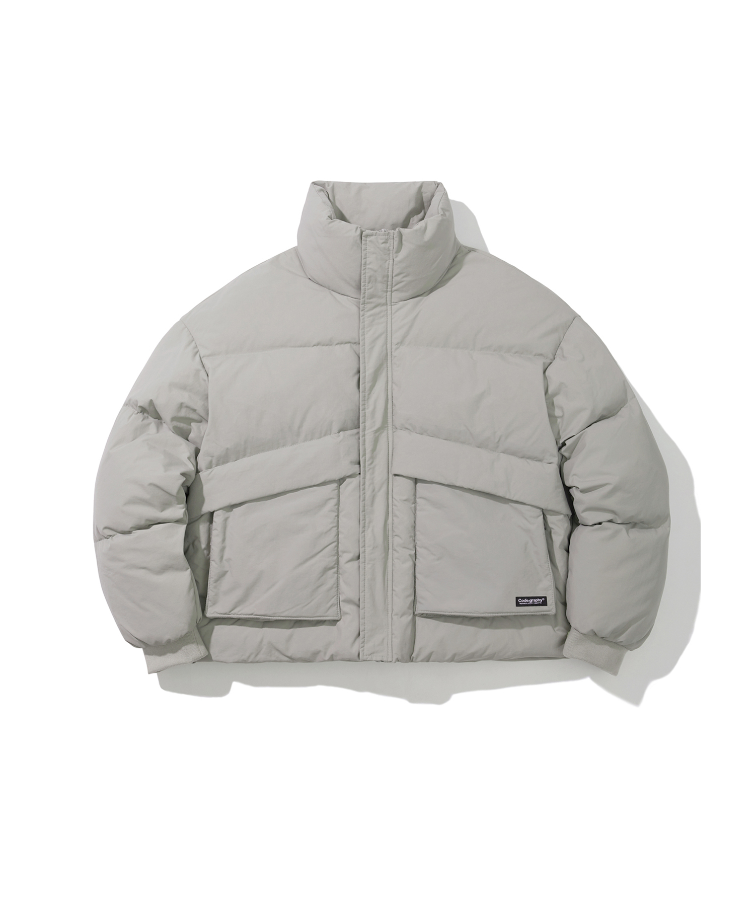 [Renewal]UTILITY DUCK DOWN SHORT PUFFA - LGR