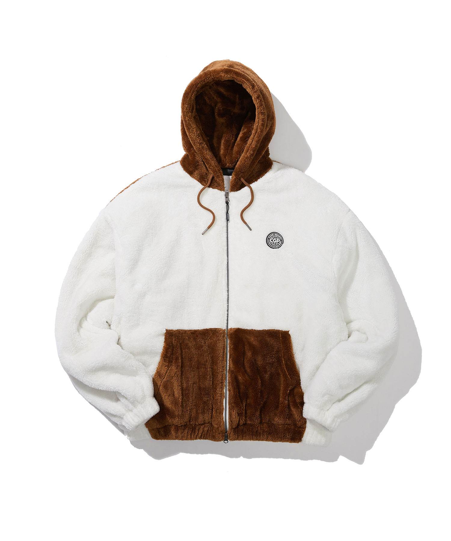 HEAVY BOA FLEECE HOOD JACKET - BR