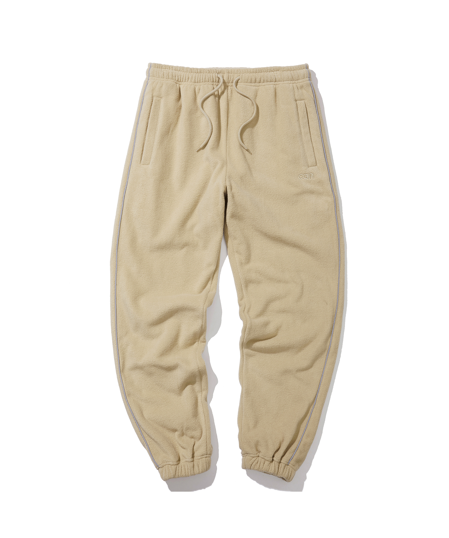 PIPING FLEECE JOGGER PANTS - BE