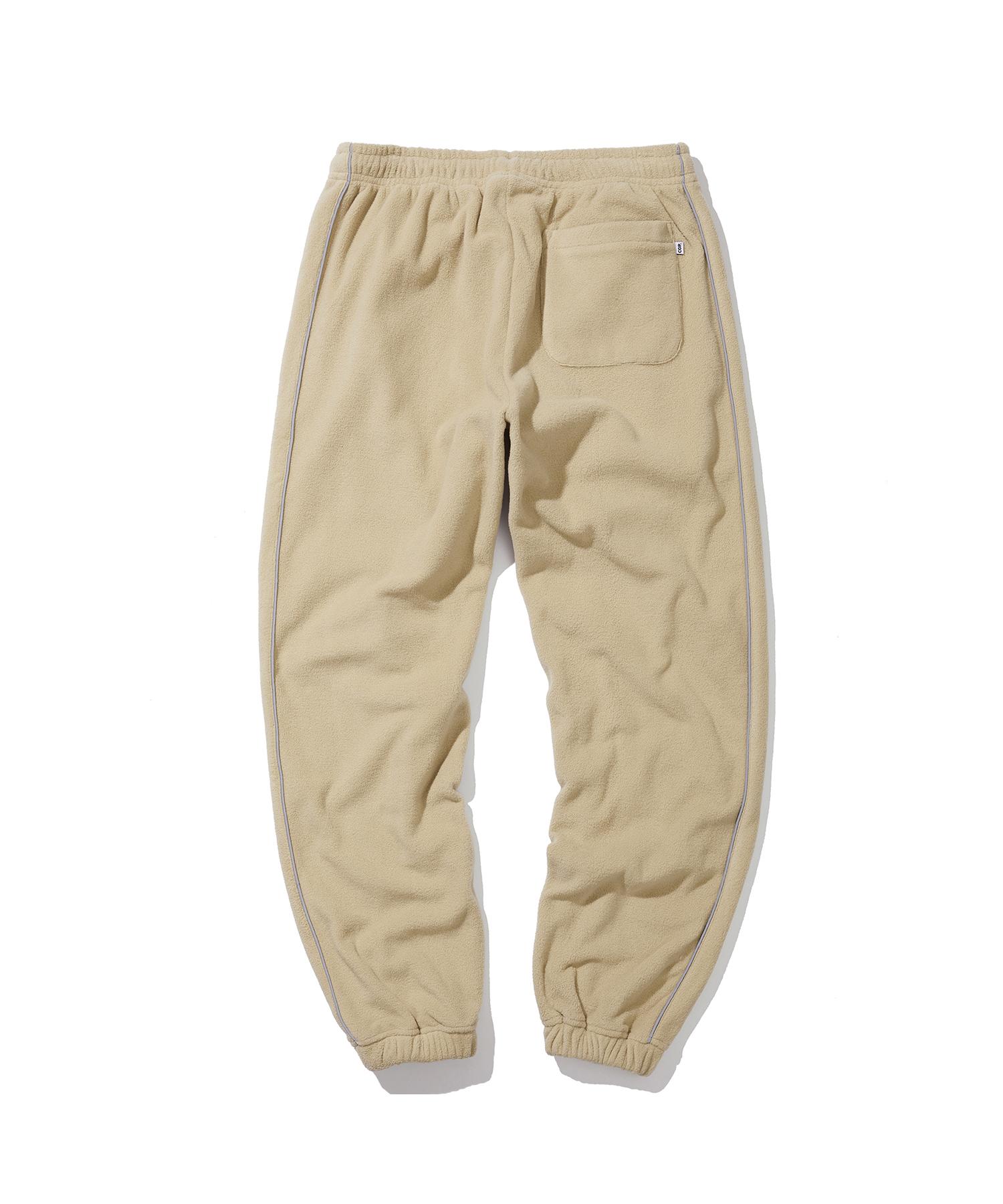 PIPING FLEECE JOGGER PANTS - BE