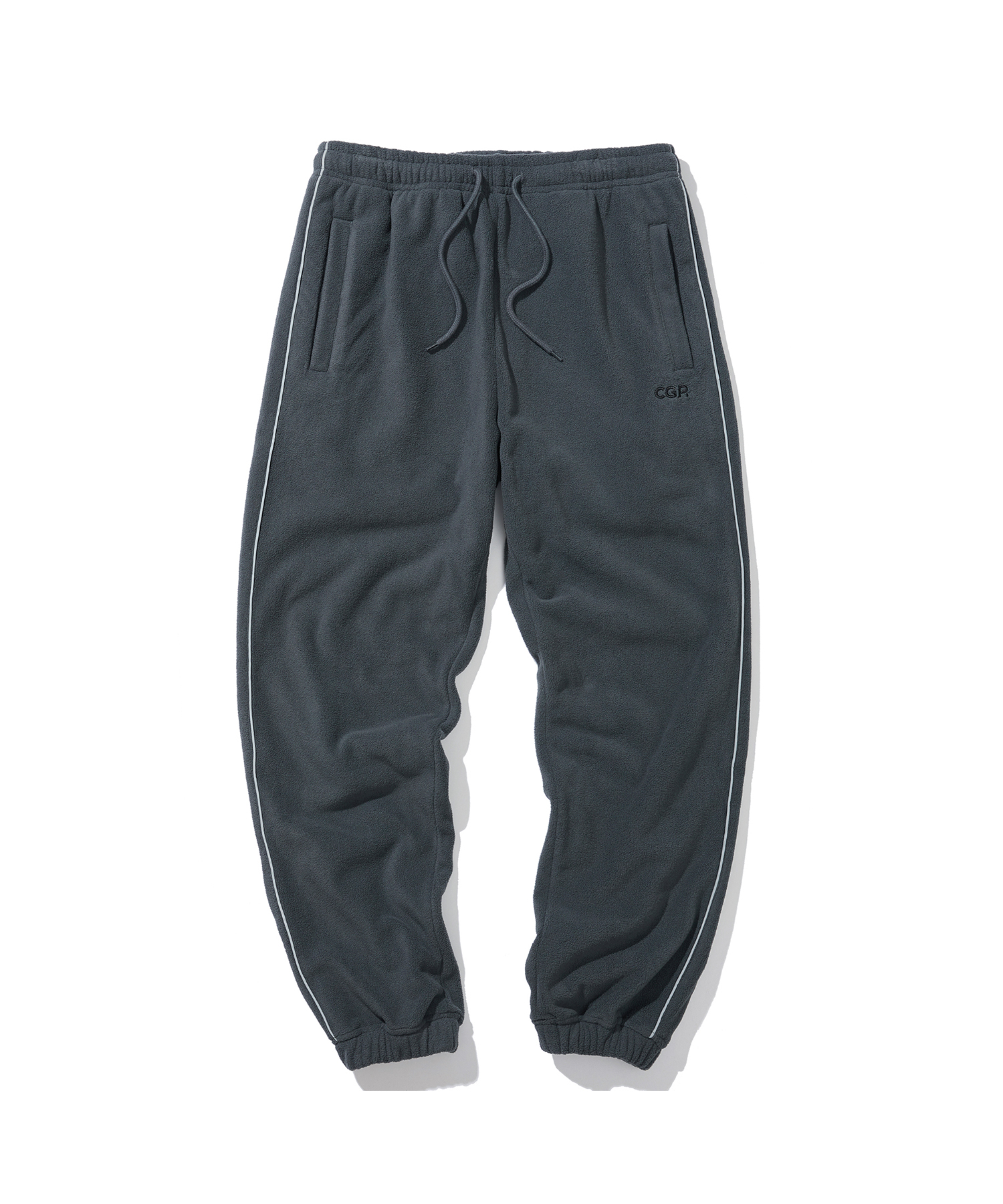PIPING FLEECE JOGGER PANTS - CH
