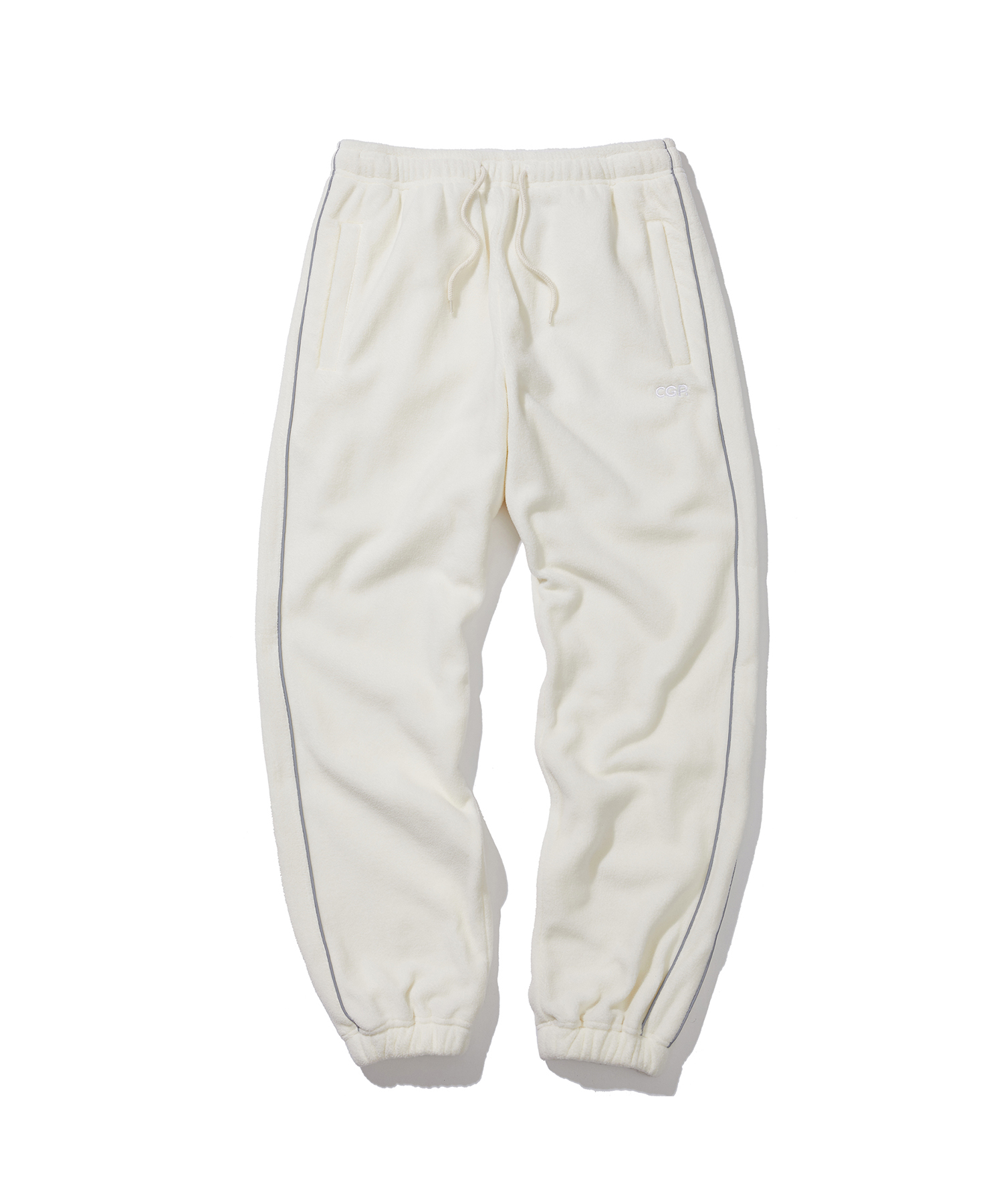 PIPING FLEECE JOGGER PANTS - CR