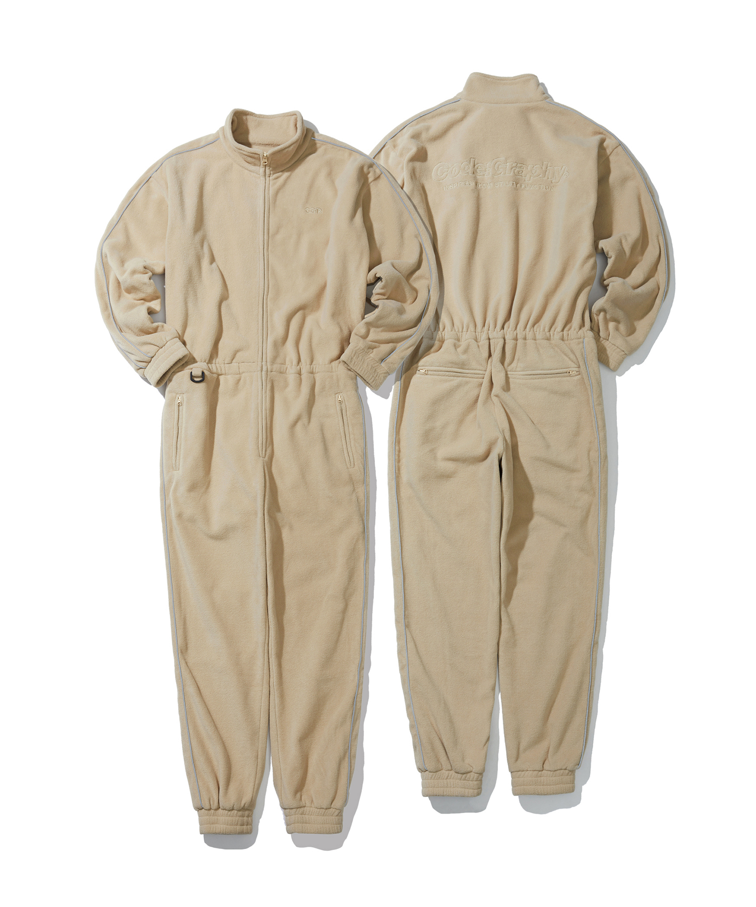 FLEECE JUMP SUIT - BE