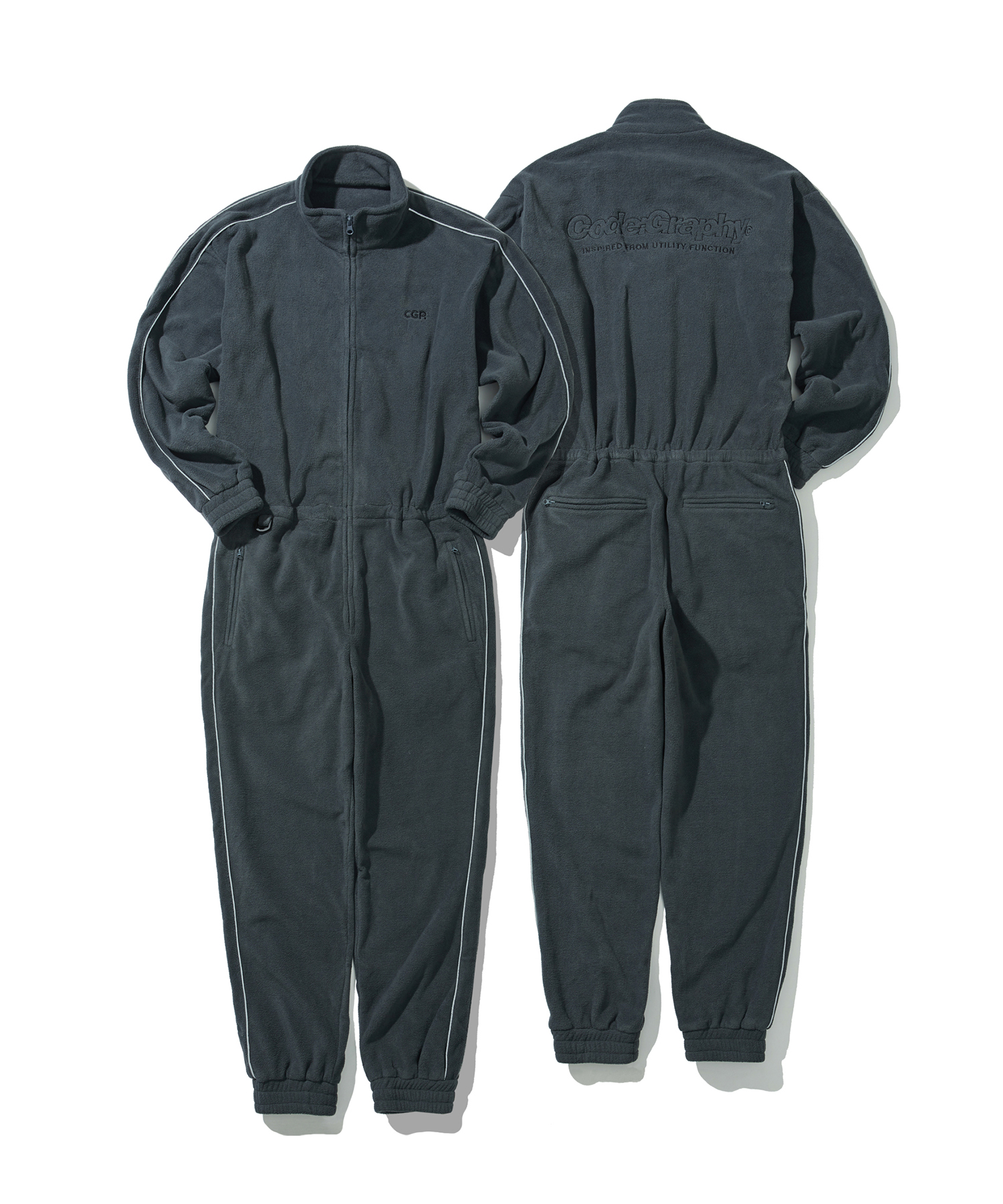 FLEECE JUMP SUIT - CH