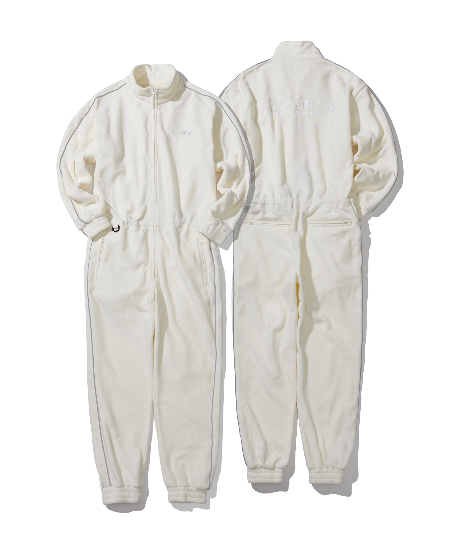 FLEECE JUMP SUIT - CR