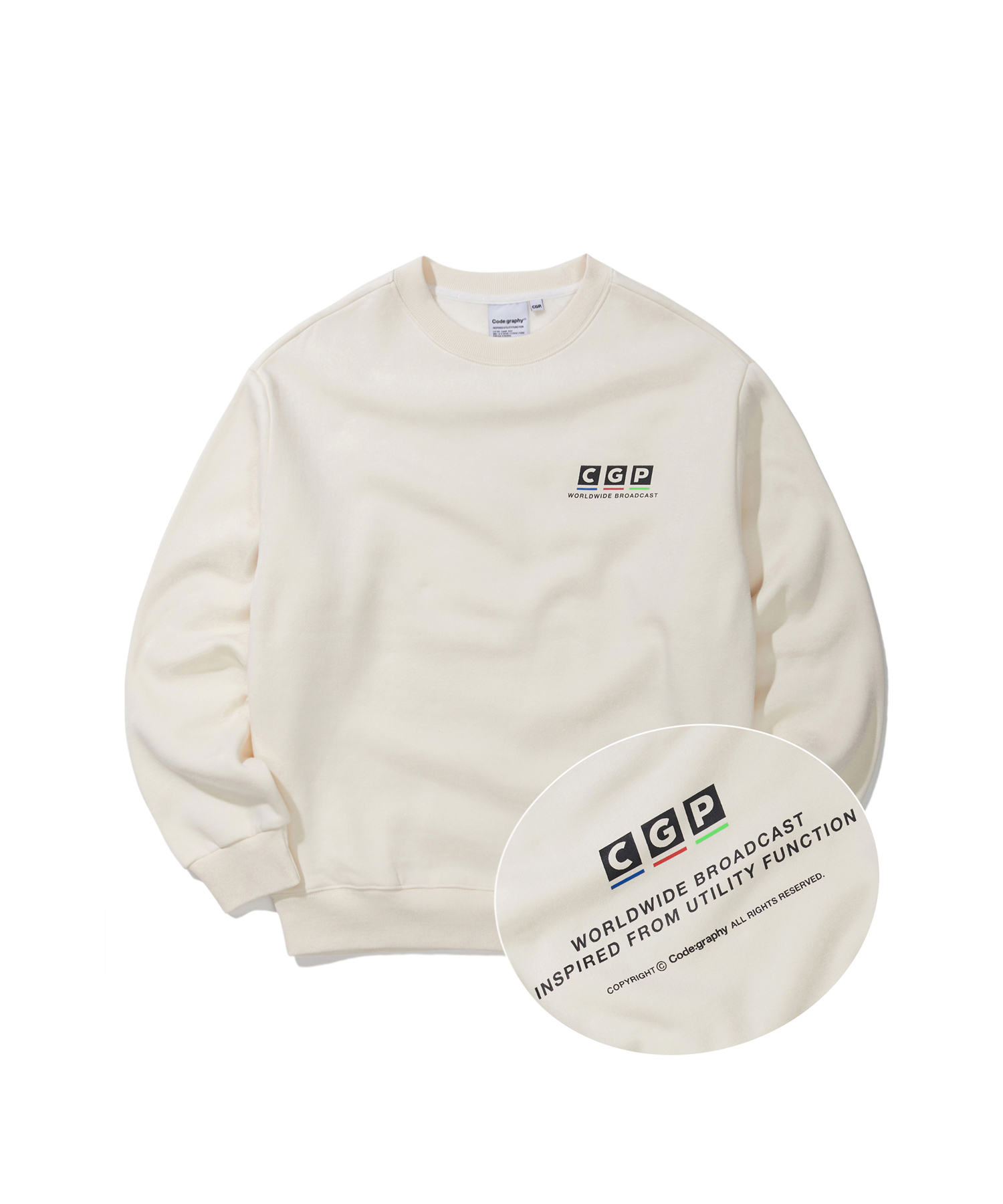 BROADCAST LOGO CREWNECK - CR